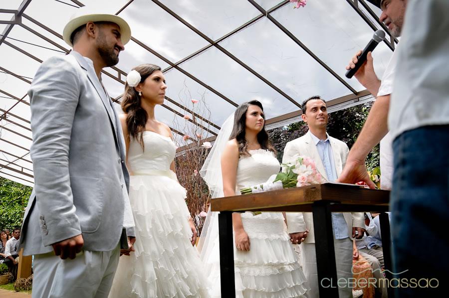 Janaina e Daniel Renza e Gustavo Casamento Duplo em Arujá Sitio 3 irmãos (65 de 195)