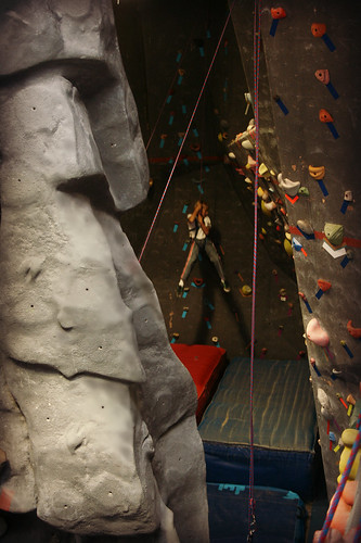 Rock climbing kids' party