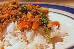 Mung Bean on Rice