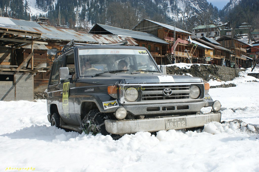 Muzaffarabad Jeep Club Neelum Snow Cross - 8471842084 f9ca341a59 b