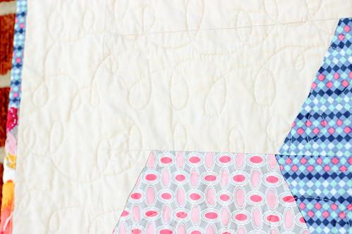 Floressence Hex Quilt by Jeni Baker