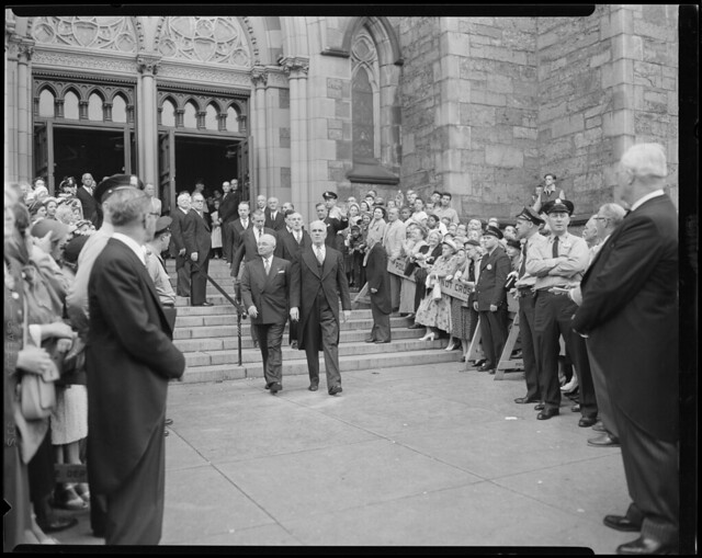 Harry Truman in Boston for Tobin's funeral | File name: 08 ... Harry Truman Funeral 1972