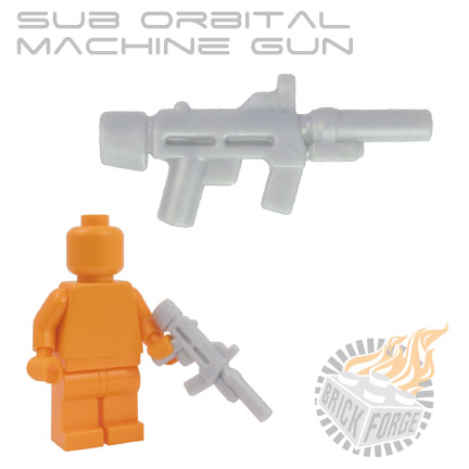 Sub Orbital Machine Gun - Silver