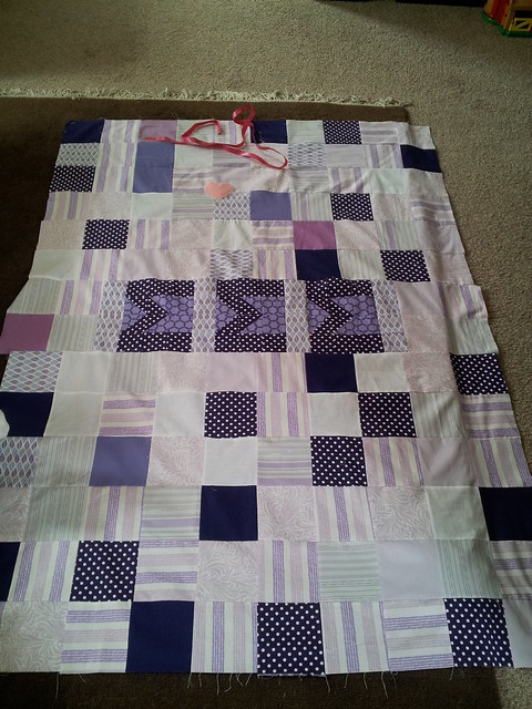 Scrappy Sigma Quilt Top