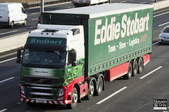 Volvo FH 6x2 Tractor - PX11 BZD - Sharon Miriam - Eddie Stobart - M1 J10 Luton - Steven Gray - IMG_1348