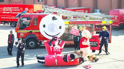 Harlem Shake - Manchester Fire Style