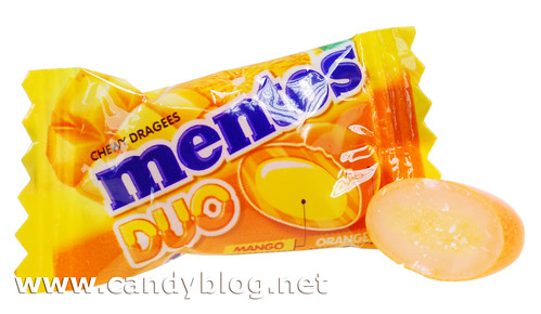 Mentos Duo - Mango Orange
