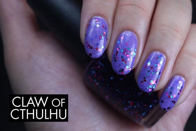 OPI Polka.com Swatch (Over Essence Oh My Glitter!)