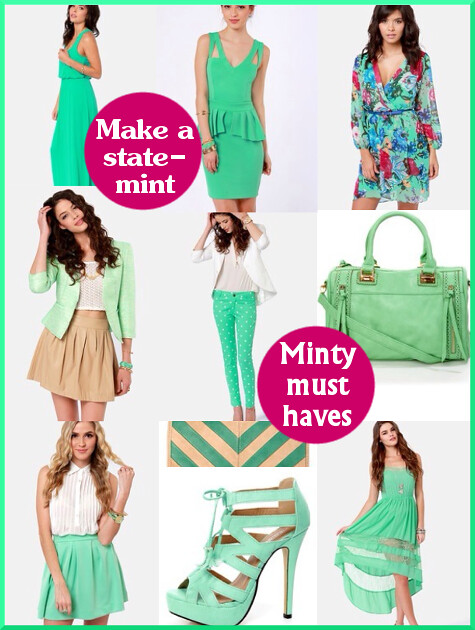 Mint Fashion Trend