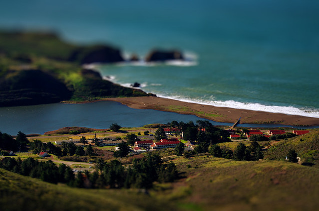 Rodeo Beach TiltShift