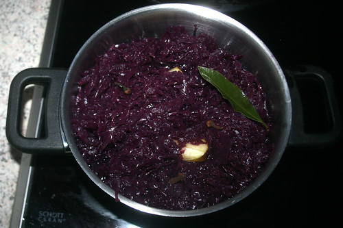 54 - Rotkraut aufsetzen / Cook red cabbage