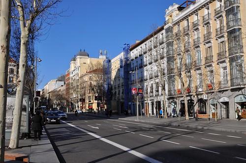 Calle serrano calles y plazas de madrid y sus gemelas en - Calle serrano 55 madrid ...