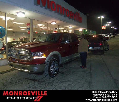 Congratulations to Jennifer Hasse on the 2013 Dodge Ram by Monroeville Dodge