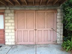 building, garden buildings, garage door, wood, property, door, facade,