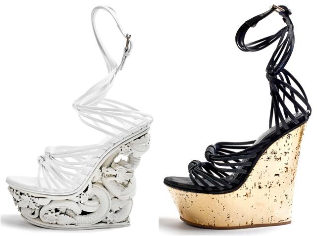 vintage platform shoe spring metallic vintage style blog my fair vanity 5