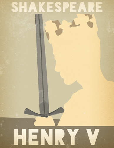 Shakespeare's Henry V Poster by rycz