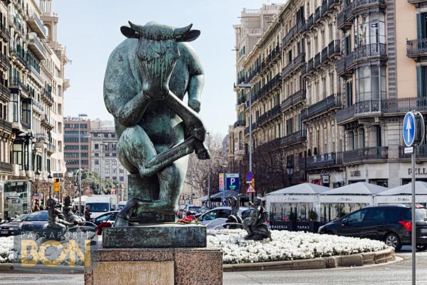 la Jirafa Coqueta, Barcelona
