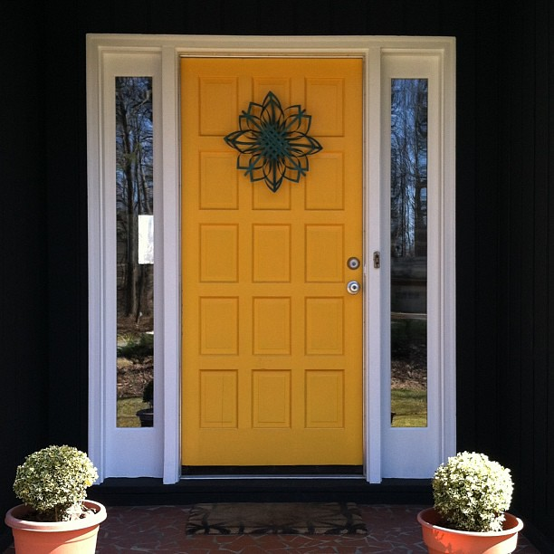 yellow front door : an open sketchbook