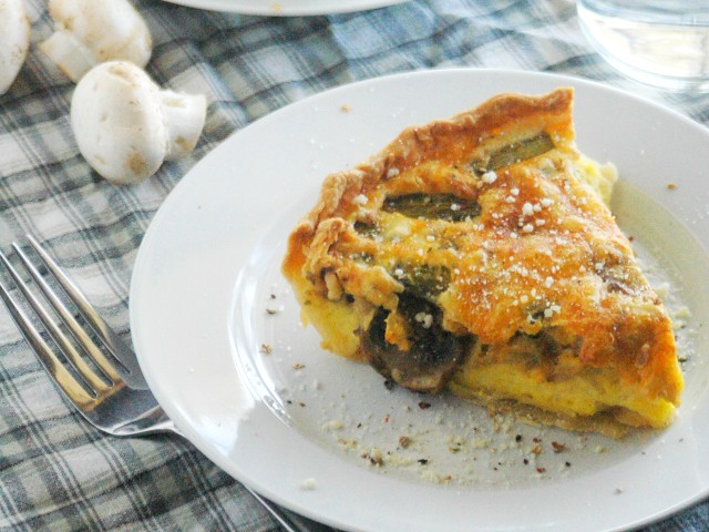 Best Quiche Recipe Ever: This quiche is light and fluffy and not too wet like some can be.