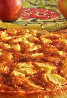 Torta di mele - Apfelkuchen mit Vanille