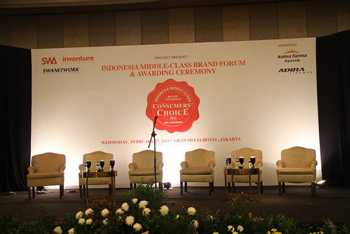 Indonesia Middle-Class Brand Forum 2013-Backdrop Banner