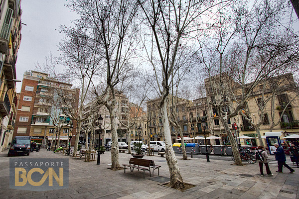 Plaça Rovira i Tries (Plaça de la Vila de Gràcia), Gràcia, Barcelona