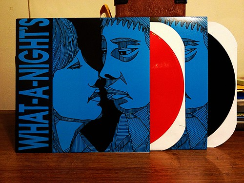 What-A-Night's - S/T LP - Black Vinyl & Red Vinyl (/60) by Tim PopKid
