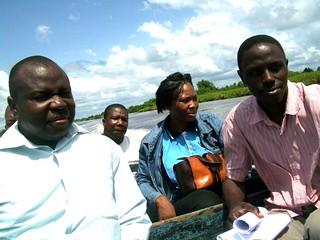 Boat ride to Abereke, Nigeria