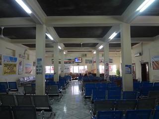 Fotografia do interior do aeroporto internacional de Berbera