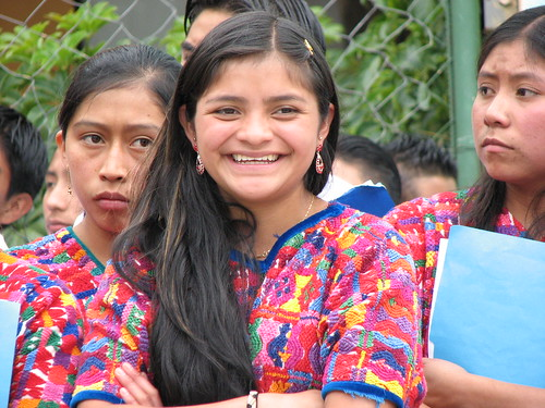 Smiling Guatemalan Student