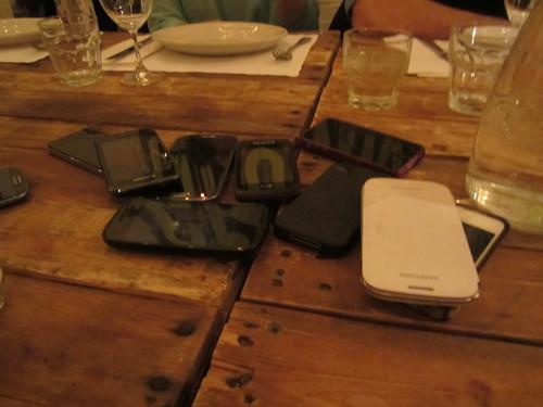 Luddite dinner
