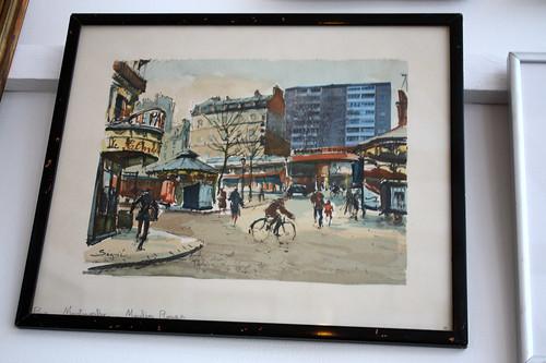 Fransk inspiration från konstnärernas Montmartre i Paris, där nytt blandas med det gamla.
