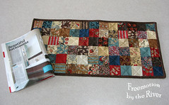 Vintage Chocolate Table Runner