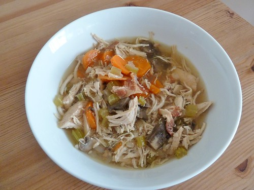 CrockPot Chunky Chicken Vegetable Soup