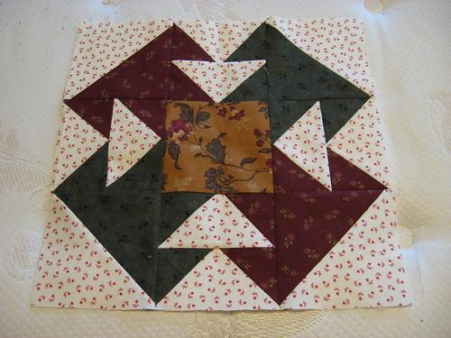Then Quilt block 3