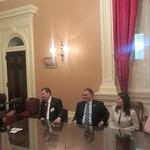 Azerbaijani delegation meets California State Assembly
