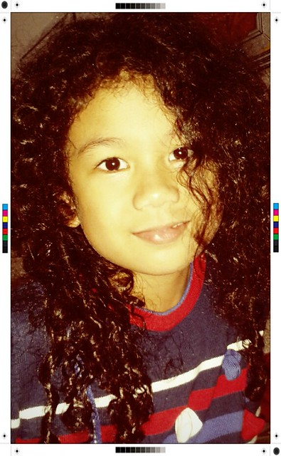 my curly little girl