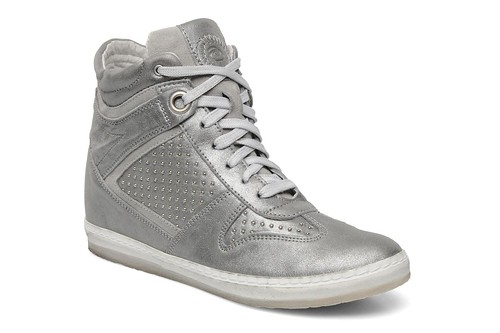 Khrio silver wedge trainers