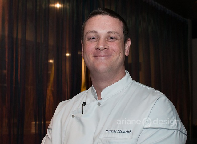 Mosaic on Burrard Executive Chef Thomas Heinrich