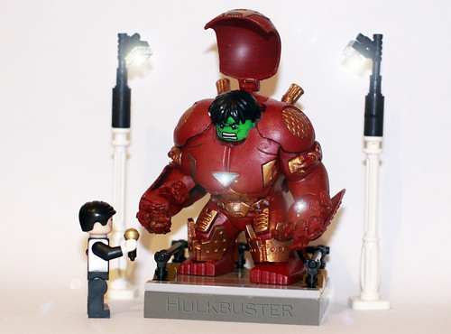Lego Iron Man custom minifig suits and Hulkbuster armor ... Lego Iron Man 3 Suits