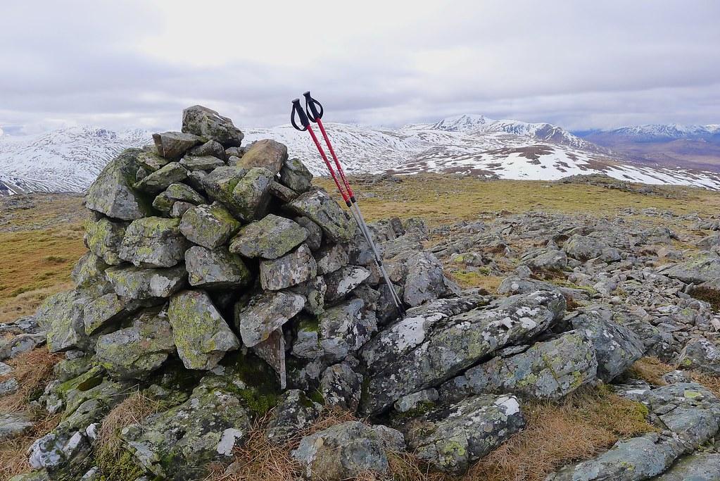 Summit of Meall Cruinn