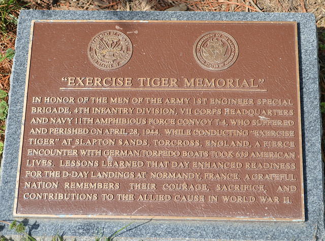 Exercise TIGER memorial - Arlington National Cemetery - 2013-03-15