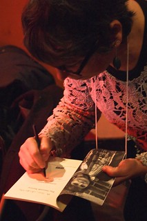 signing, Susan Glickman