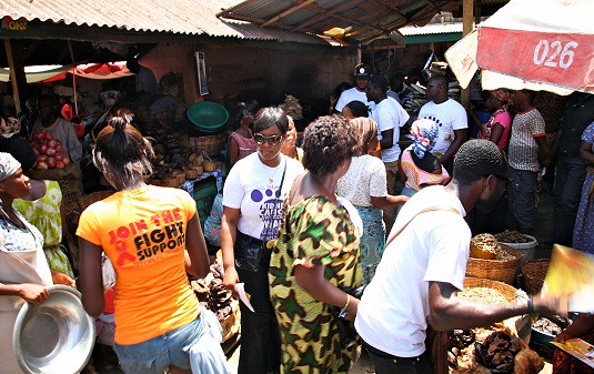 Juliet Ibrahim Foundation Divas Car wash (7)