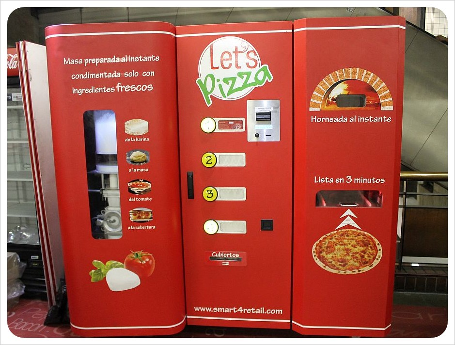 santiago pizza machine