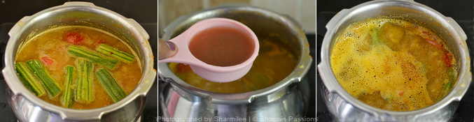 How to make sambar - Step3