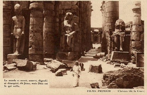 Christus (1916) Jesus among the ruins of the world (Luxor, Egypt)