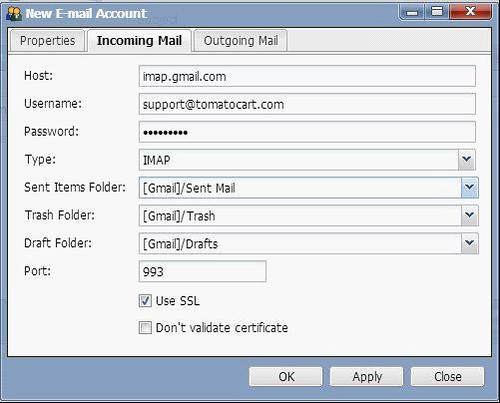 set customer email module 3