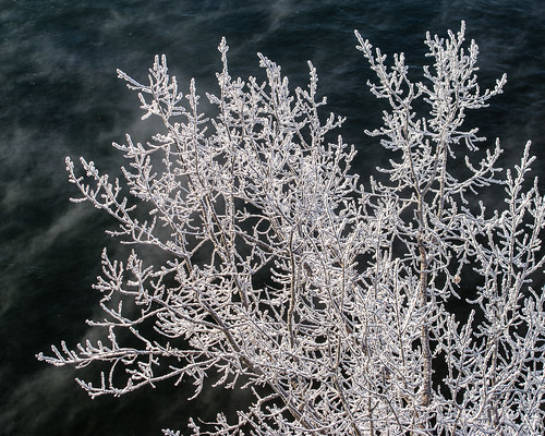 frost over the river
