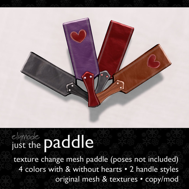 texture change paddle - coming to Pose Fair